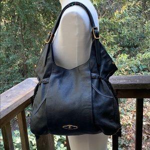 Elliott Lucca black shoulder handbag